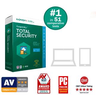 Kaspersky total security 2016 discount