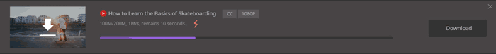 Wondershare UniConverter download tab