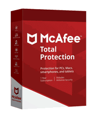 Mcafee Total Protection box image