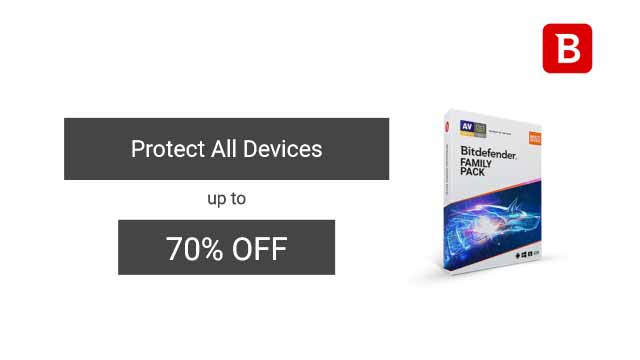 Bitdefender Family Pack discount coupons