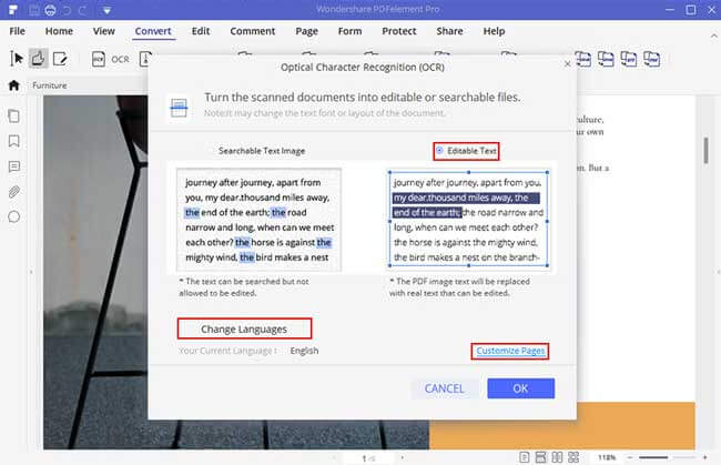 wondershare pdfelement 7 pro ocr capability