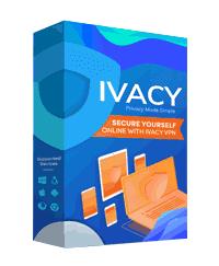 Ivacy VPN box image