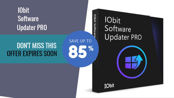 IObit Software Upddater Pro coupon codes