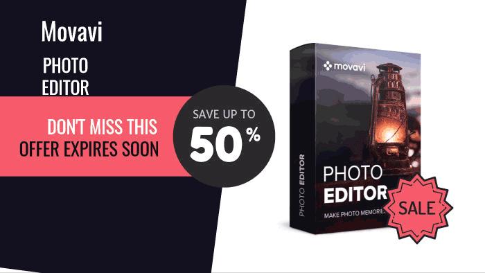 Movavi Photo Editor Coupon Codes